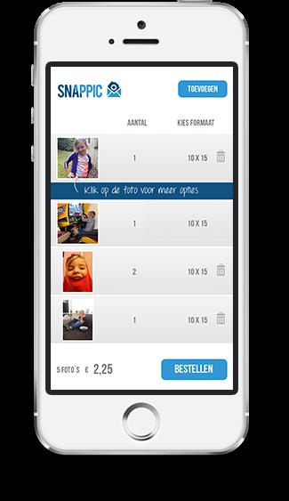 b6cad4c6cc7b32 Dan raden wij aan onze app te gebruiken. U kunt uw foto s dan direct vanaf  uw telefoon bestellen. Het enige dat u nodig heeft is een  internetverbinding.